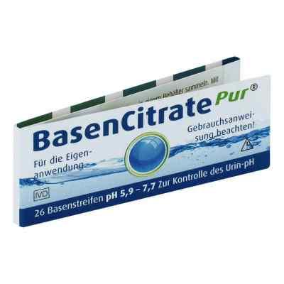 Basen Citrate Pur Paski testowe (pH 5,9-7,7)
