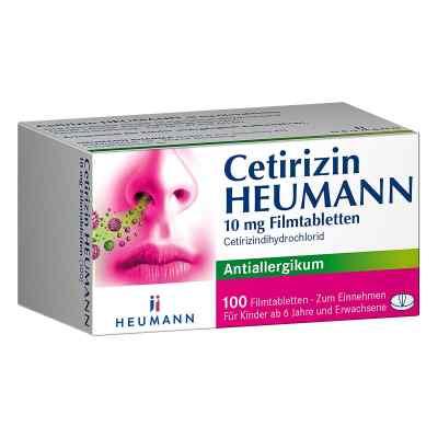 Heumann Cetirizin tabletki na alergię   zamów na apo-discounter.pl