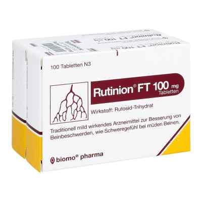 Rutinion Ft 100 mg Tabl.  zamów na apo-discounter.pl