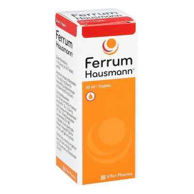 Ferrum Hausmann 50mg żelaza/ml roztworu  zamów na apo-discounter.pl