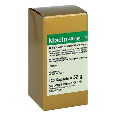 Niacin 40 mg pro kapsułki