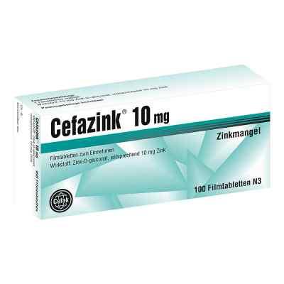 Cefazink 10 mg Filmtabl.