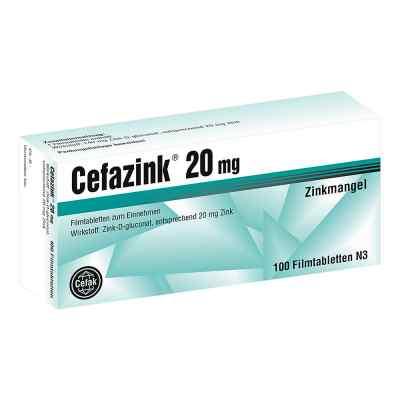 Cefazink 20 mg Filmtabl.
