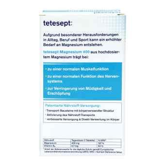 Tetesept  Magnez 400 mg tabletki, duża dawka  zamów na apo-discounter.pl