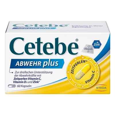 Cetebe Abwehr plus Vitamin C+vitamin D3+zink Kapsel (n)