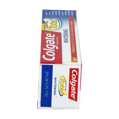 Colgate Total Plus Whitening pasta wybielająca do zębów  zamów na apo-discounter.pl