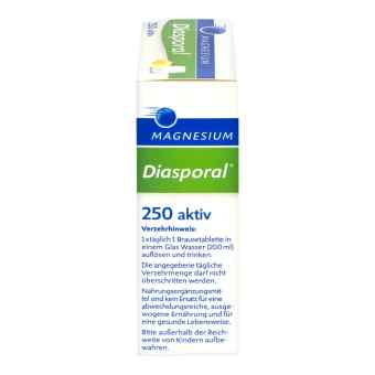 Magnesium Diasporal 250 aktiv tabletki musujące  zamów na apo-discounter.pl