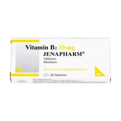 Vitamin B2 10 mg Jenapharm w tabletkach  zamów na apo-discounter.pl