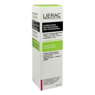 Lierac Prescription żel matujący skórę