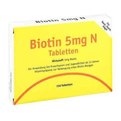 Biotin 5 mg N tabletki  zamów na apo-discounter.pl