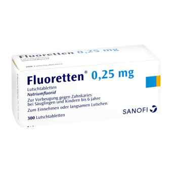Fluoretten 025 mg tabletki  zamów na apo-discounter.pl