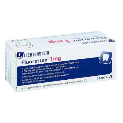 Fluoretten 1.0 mg tabletki