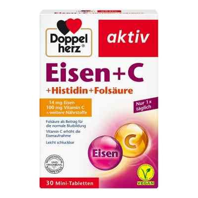 Doppelherz żelazo+ witamina C+ histydyna+ kwas foliowy tabletki  zamów na apo-discounter.pl