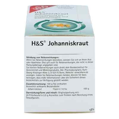 H&S herbata z dziurawca saszetki  zamów na apo-discounter.pl