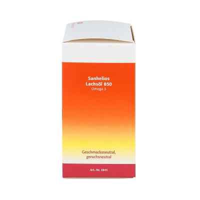 Sanhelios Lachsoel 850 Omega 3 kapsulki z olejem łososia