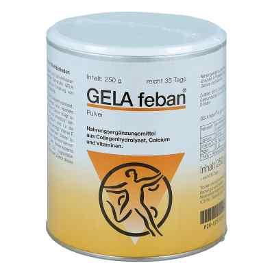 Gelafeban plus proszek z żelatynowym hydrolizatem  zamów na apo-discounter.pl