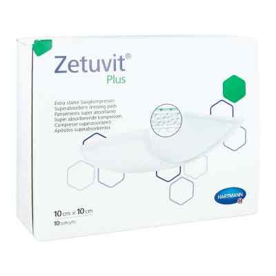 Zetuvit Plus extrastarke Saugkomp.ster.10x10 cm  zamów na apo-discounter.pl