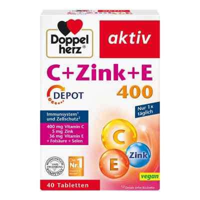 Doppelherz wit. C+E+cynk Depot tabletki
