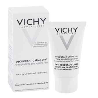 Vichy dezodorant w kremie do skóry wrażliwej  zamów na apo-discounter.pl