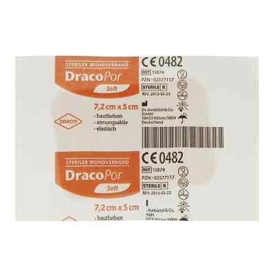 Dracopor Wundverband 7,2x5cm steril hautfarben  zamów na apo-discounter.pl
