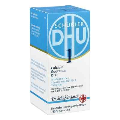 Biochemie DHU sól Nr 1 Fluorek wapnia D12,  tabletki  zamów na apo-discounter.pl