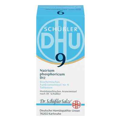 Biochemie Dhu 9 Natrium phosph. D 12 Tabl.  zamów na apo-discounter.pl