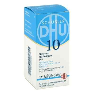 Biochemie DHU sól Nr 10 Siarczan sodowy D12, tabletki  zamów na apo-discounter.pl