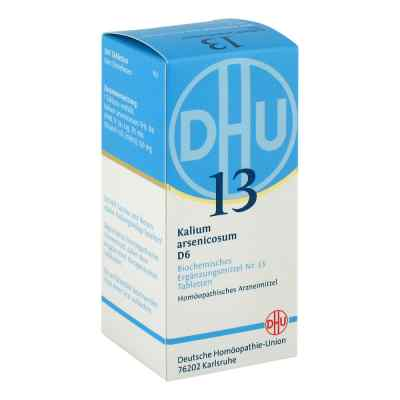 Biochemie Dhu 13 Kalium arsenicosum D 6 w tabletkach  zamów na apo-discounter.pl