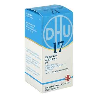 Biochemie Dhu 17 Manganum sulfuricum D6 tabletki  zamów na apo-discounter.pl