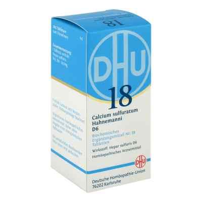 Biochemie Dhu 18 Calcium sulfuratum D 6 Tabl.  zamów na apo-discounter.pl