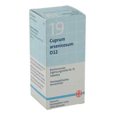 Biochemie Dhu 19 Cuprum arsenicosum D 12 Tabl.