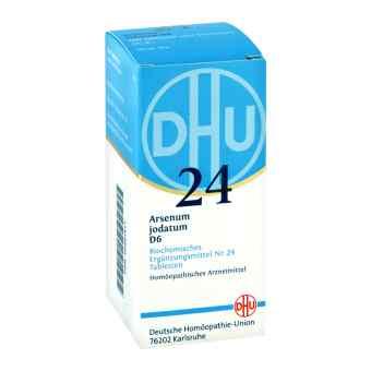 Biochemie Dhu 24 Arsenum jodatum D 6 Tabl.
