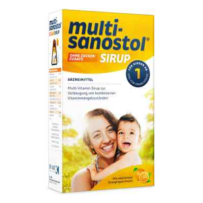 Multi Sanostol syrop bez dodatku cukru  zamów na apo-discounter.pl