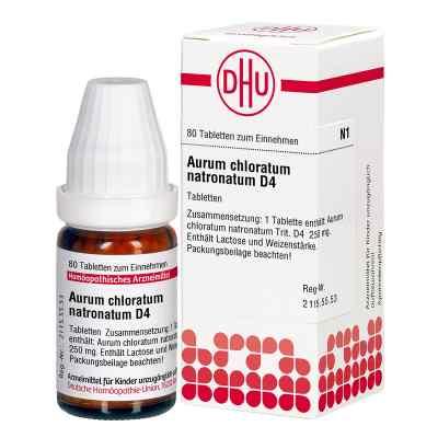 Aurum Chloratum Natronatum D 4 Tabl.  zamów na apo-discounter.pl