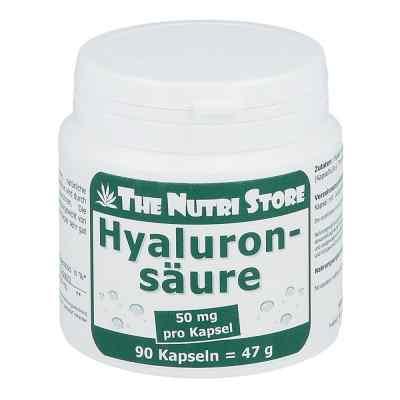 Kwas hialuronowy 50 mg kapsułki