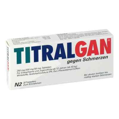 Titralgan Tabletten gegen Schmerzen  zamów na apo-discounter.pl