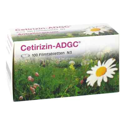 Cetirizin Adgc Filmtabl.  zamów na apo-discounter.pl