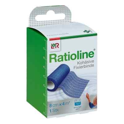 Ratioline acute Fixierbinde 8cmx4m blau  zamów na apo-discounter.pl