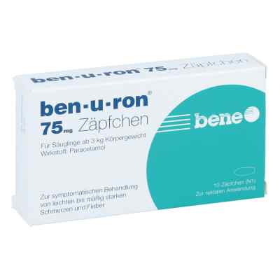 Ben U Ron 75 mg Suppos.  zamów na apo-discounter.pl