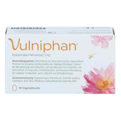 Vulniphan Vaginalovula kuleczki dopochwowe  zamów na apo-discounter.pl
