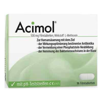 Acimol mit pH Teststreifen Filmtabl.  zamów na apo-discounter.pl
