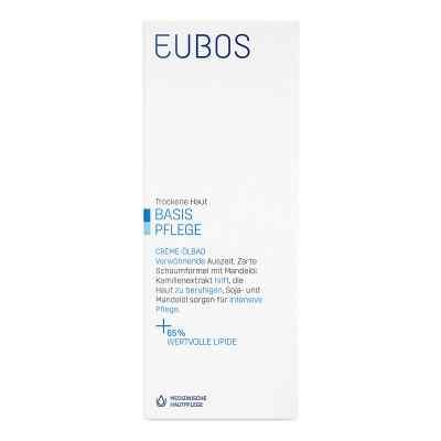 Eubos  kremowy olejek do kąpieli  zamów na apo-discounter.pl