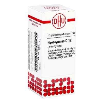 Hyoscyamus D 12 Globuli  zamów na apo-discounter.pl