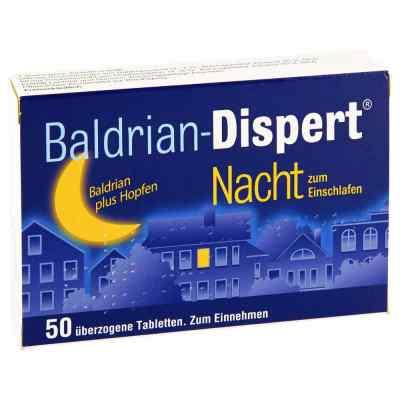 Baldrian Dispert Nacht powlekane tabletki nasenne  zamów na apo-discounter.pl