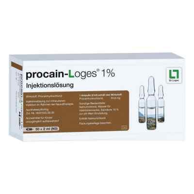 Procain Loges 1% Injektionsloesung Amp.  zamów na apo-discounter.pl