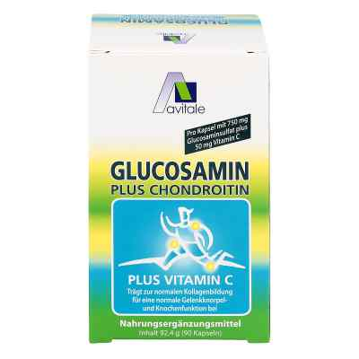 Glucosamin 750 mg + Chondroitin 100 mg Kapseln  zamów na apo-discounter.pl