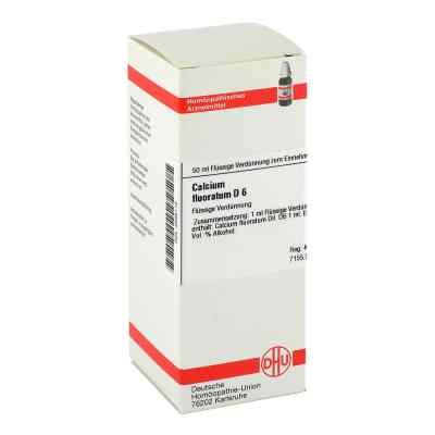 Calcium Fluoratum D 6 Dil.