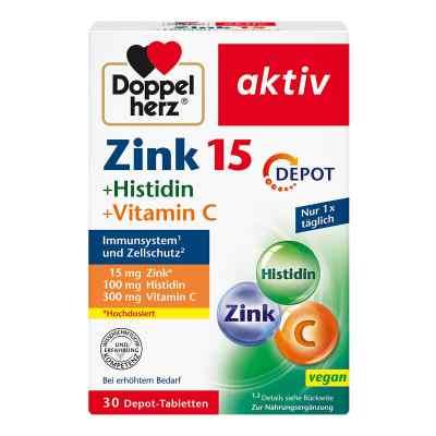 Doppelherz cynk+histydyna +wit.C tabletki  zamów na apo-discounter.pl