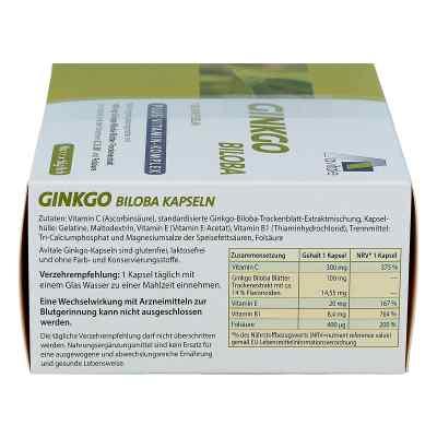 Ginkgo biloba 100 mg kapsułki z wit. B1, C + E  zamów na apo-discounter.pl