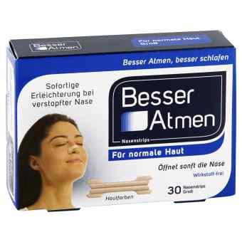Breath Right paski na nos dla dorosłych  (beżowe) duże